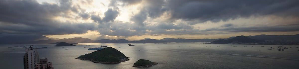 Site header image - image of HK looking west from HK Island